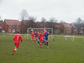 Photo: 05/02/11 v Sileby Town (Leics Senior League Prem Div) 4-3 - contributed by Mark Farnell