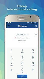 Cloud SIM - Virtual numbers, Cheap calls & SMS- screenshot thumbnail