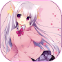 Anime Girls Pictures HD APK icon