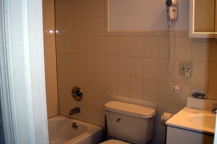 Bathroom at Midtown East apartment