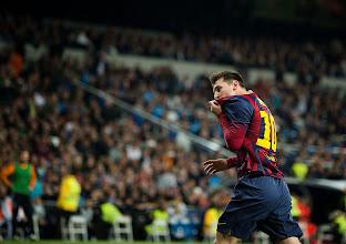 Photo: Messi en el partido Madrid-Barça del domingo. Foto de Jordi Cotrina