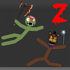 Stickman Warriors Zombie Fnaf icon