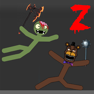 Stickman Warriors Zombie Fnaf