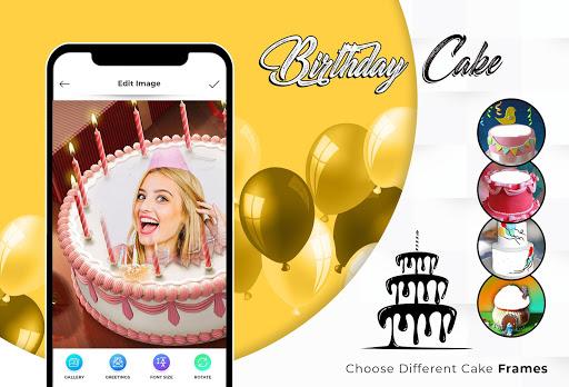 Name Photo On Birthday Cake 1.5 screenshots 1