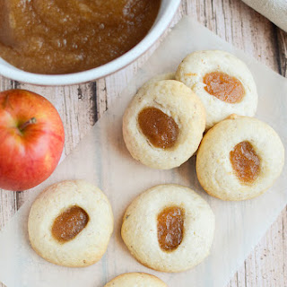 Apple Butter Thumbprint Cookies