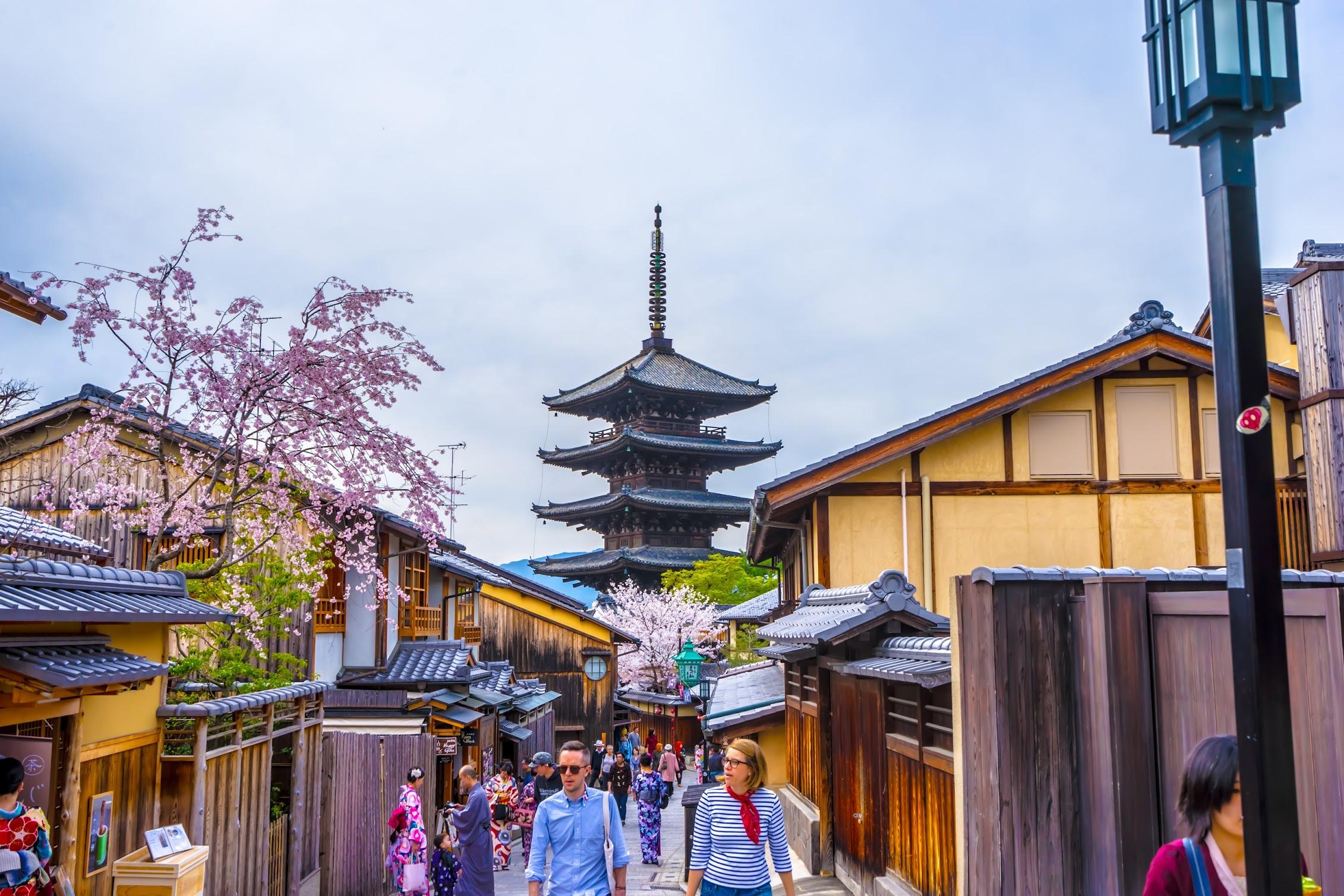 京都 八坂の塔2