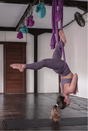 yoga aérien paris