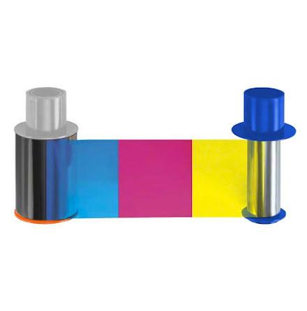 Färgband Fargo HDP5000 - YMCK - 500 utskrifter