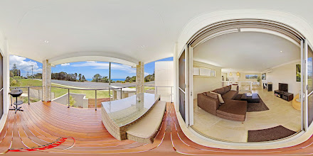 Photo: Beach House 2 - Upstairs View from Balcony www.escapeatnobbys.com.au