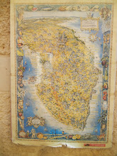 Photo: Old map of the Salentino at the Museo Faggiano