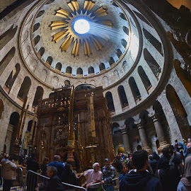 Church of the Holy Sepulchre by David Solodar - People Street & Candids