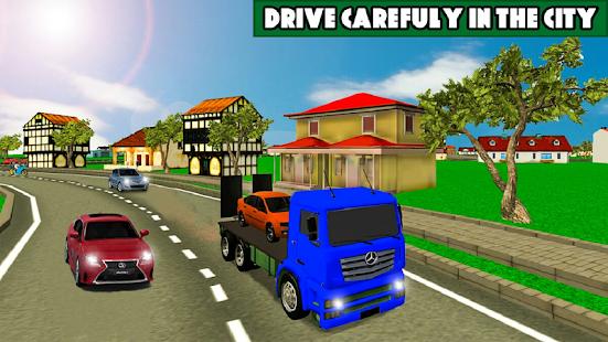 Car Transporter Cargo truck 2019 2