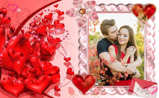 Valentine Day Photo Frame 2018 - Love Photo Frame 6.0 screenshots 1
