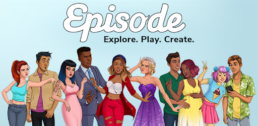 Interactive visual stories where YOU choose what path your character takes!