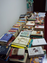 Photo: Used books were sold as a fund raiser for regional women's ministries.