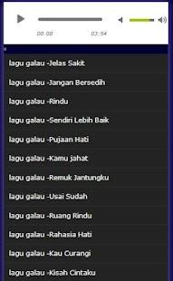 lagu galau - náhled