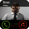 Set fake phone call icon