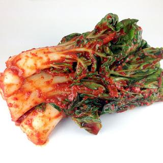 Baby Bok Choy Kimchi