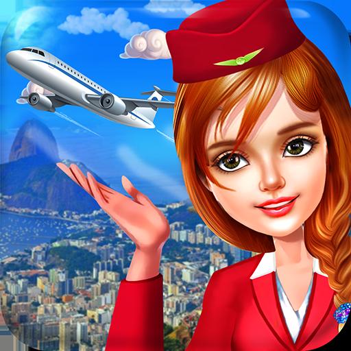 Stewardess and Flight Attendants