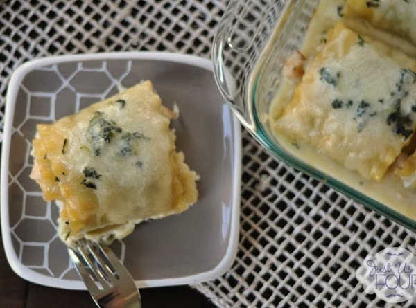 Turkey And Spinach Lasagna Rolls Recipe