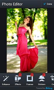 ženy dlouhé šaty fotomontáž - náhled