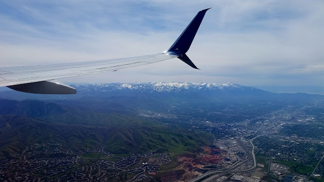 Leaving Salt Lake City