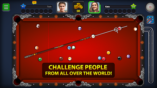 8 Ball Pool MOD (Extended Stick Guideline) 2