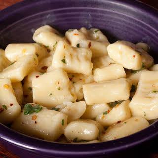 Mashed Potato Gnocchi.