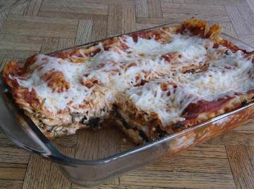 Spinach Lasagna (small) Recipe