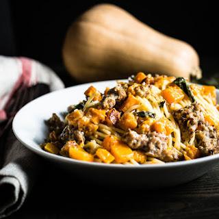 Butternut Squash and Sausage Pasta Recipe