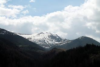 Photo: w drodze na Pop-Ivan jeszcze snieg