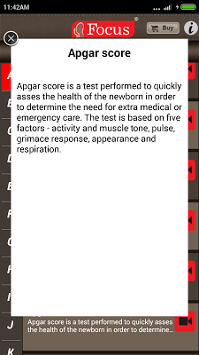 Pediatrics Dictionary - screenshot