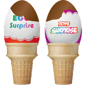 Surprise Ice Cream Eggs