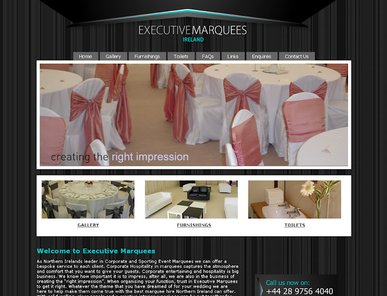 Photo: Executive Marquees http://www.executive-marquees.com/