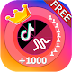 Follow 💖- Get Real Followers & Fans for Tik 👑Tok Android apk