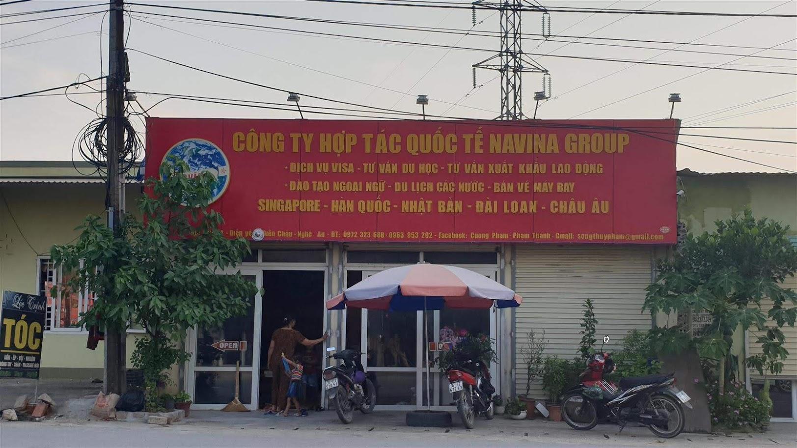 Trụ sở Công ty Navina Group tại xã Diễn Yên,  huyện Diễn Châu