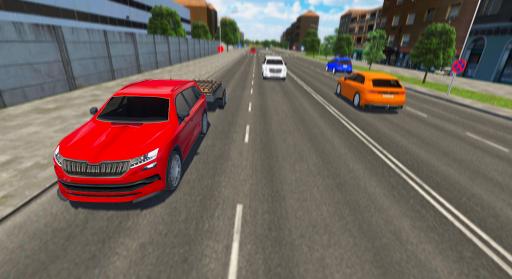 Télécharger Car Driving Sim : Trailer Transport APK MOD 1