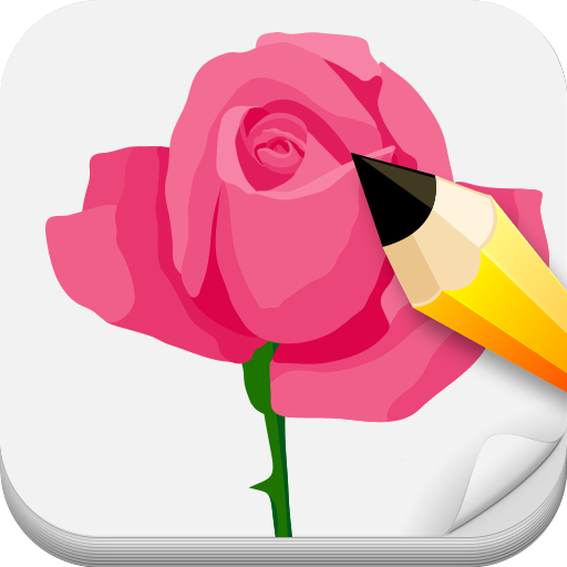 Draw Roses Step By Step 遊戲 App LOGO-硬是要APP