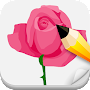 Draw Roses Step By Step APK icon