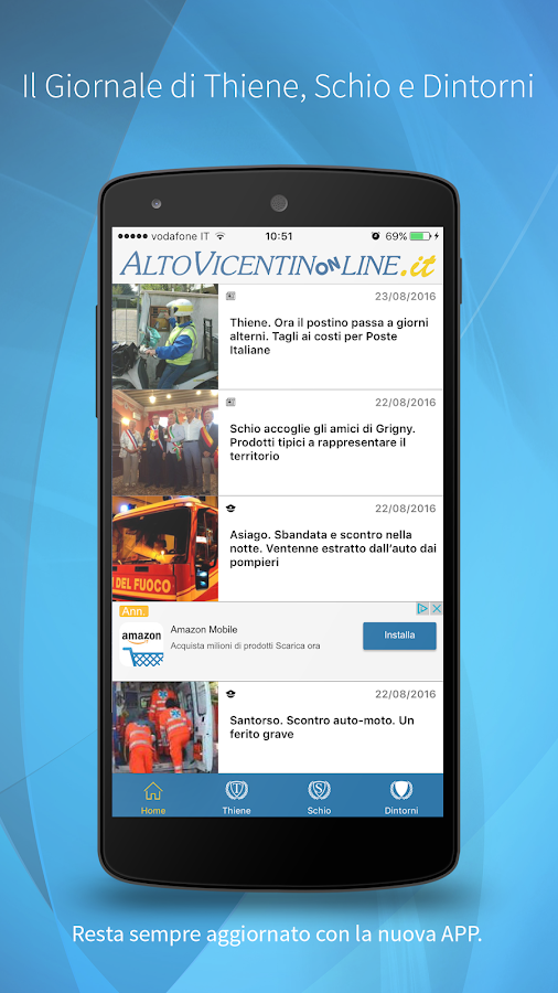 Altovicentinonline- screenshot