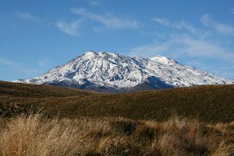 Photo: Mt. Ruapehu am Morgen
