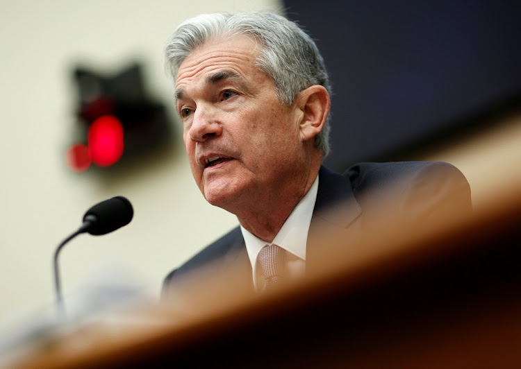 Federal Reserve chairman Jerome Powell. Picture: REUTERS