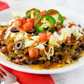 Skinny Mexican Tortilla Pizza