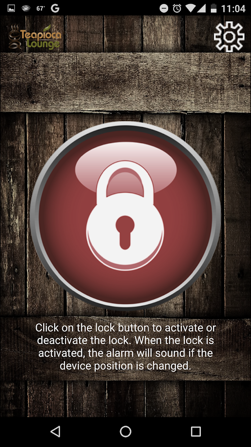 PosLock: Device Position Lock- screenshot