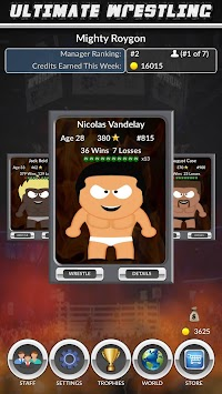 Ultimate Wrestling apk screenshot