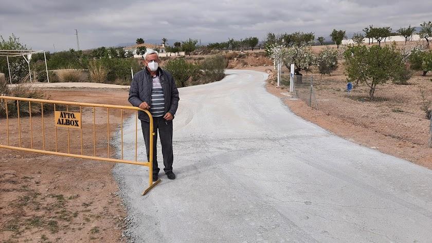 El concejal de Obras y actual alcalde en funciones, José Campoy.