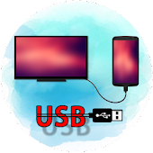 USB connector to smart TV Icon