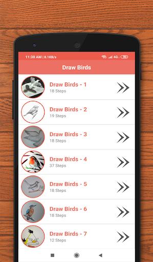How to Draw Birds 3.0 screenshots 1