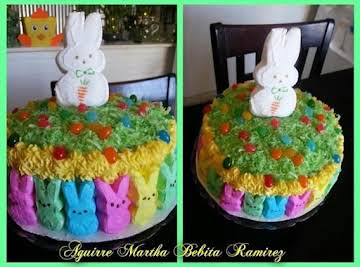 Easter Cake decoration idea...Bebita