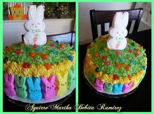 Easter Cake Decoration Idea...bebita